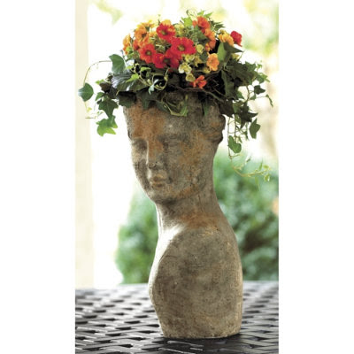 Parterre Monroe Trendspotting Head Shaped Planters