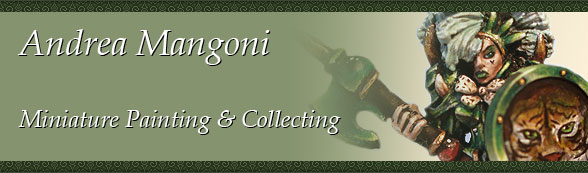 Andrea Mangoni - Miniature Painting & Collecting