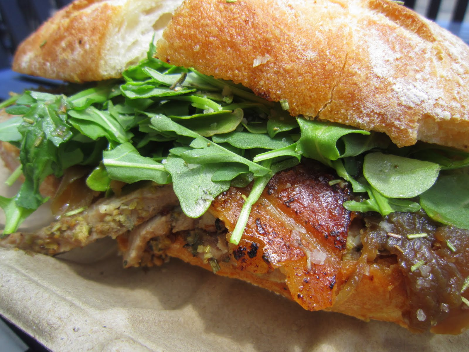 Roli Roti - Porchetta Sandwich | I Left My Cart in San Francisco