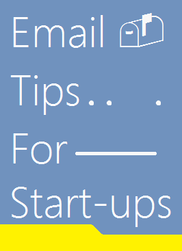 image: Email tips for start-ups companies