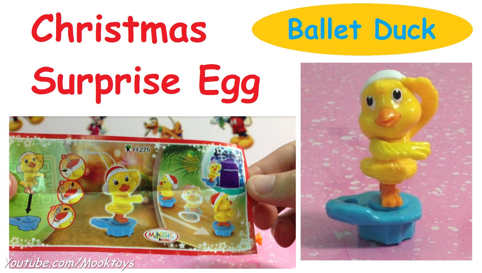 Christmas Kinder Surprise 2014