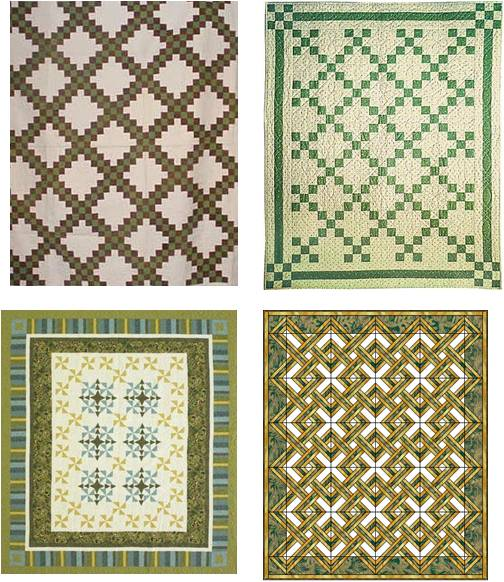 Irish Quilting Patterns : Quilt Inspiration: Free patterns: St. Patrick s Day