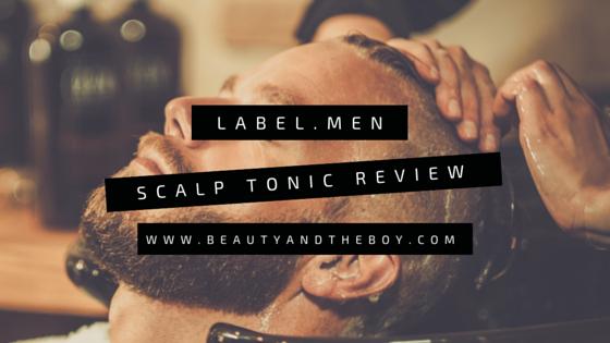 label.men Scalp Tonic Review