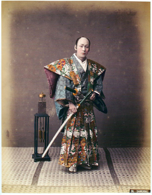Portraits Of The Real Samurai In The 19 Century Vintage