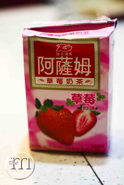 Assim strawberry milk tea