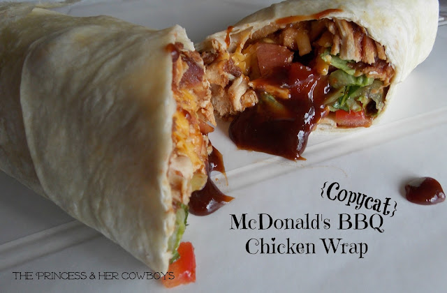 BBQ Chicken Wrap