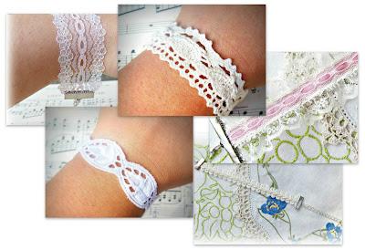 image luscious lace range of bracelets vintage crochet lace feminine