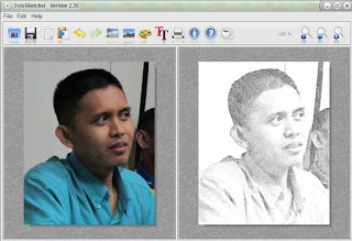 foto jadi lukisan pensil @ www.duan.web.id