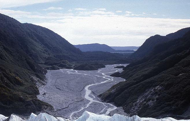 Franz Josef Glacier at Westland National Park