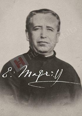 P. Emmanuel Magri SJ (1851-1907) fue una figura clave en la historia de Hipogeo de Hal Saflieni