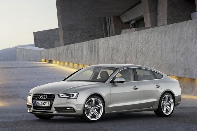 2012 Audi A5 Sportback Silver Wallpaper