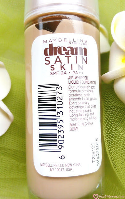 Maybelline Dream Satin Skin Liquid Foundation Review Pinkuroom