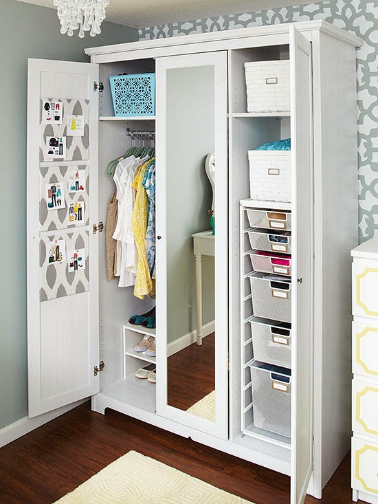 Interior design gallery storage solutions for closets for Storage solutions for small closets