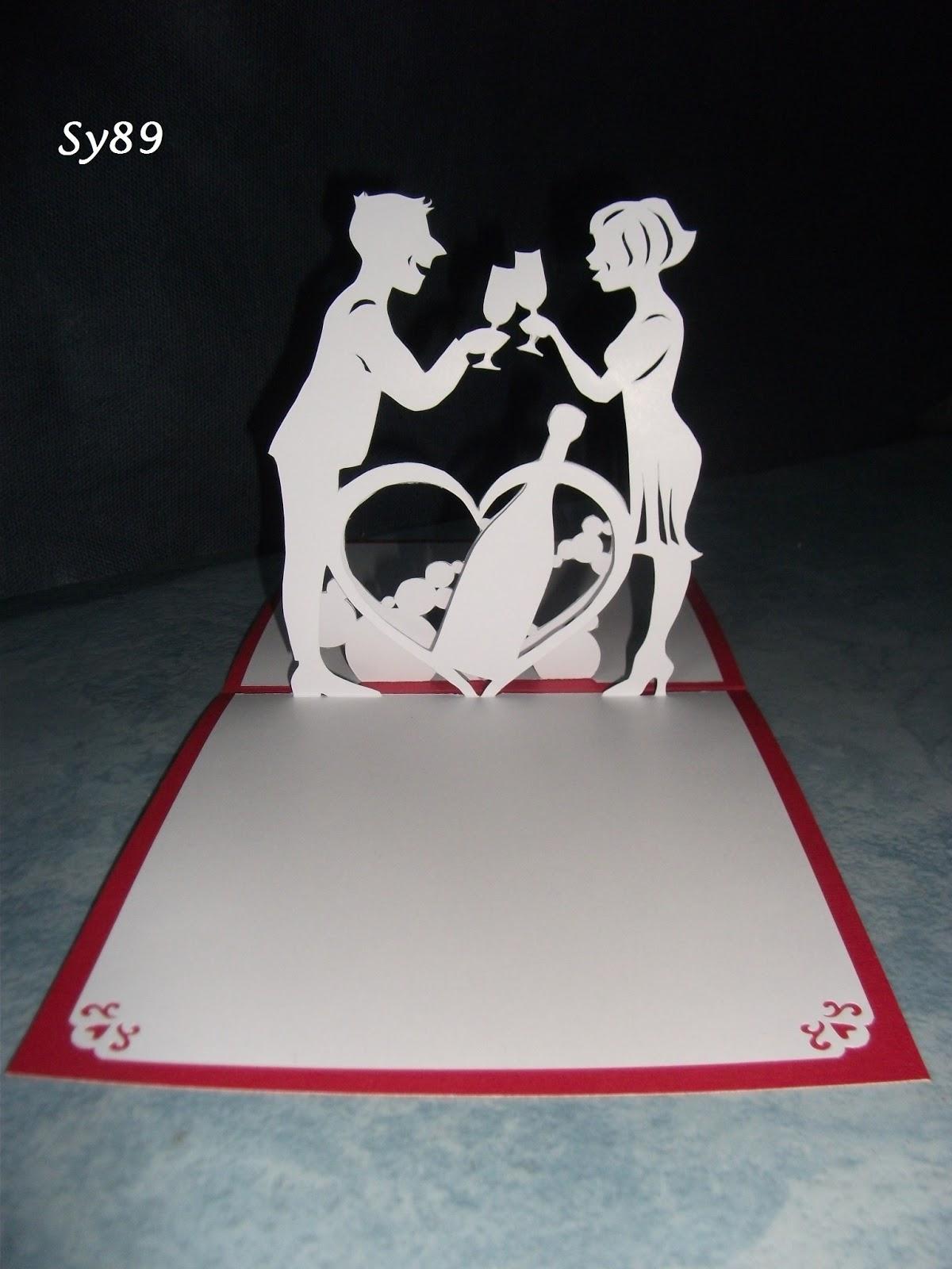 Bienvenue dans ma bulle de scrap f vrier 2013 - Carte saint valentin a fabriquer ...
