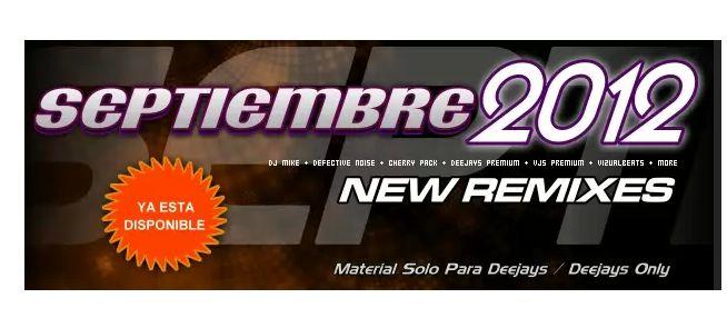Gastlydj Musica Remix Septiembre 2012
