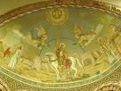 Detall de les pintures de la cúpula de l'absis
