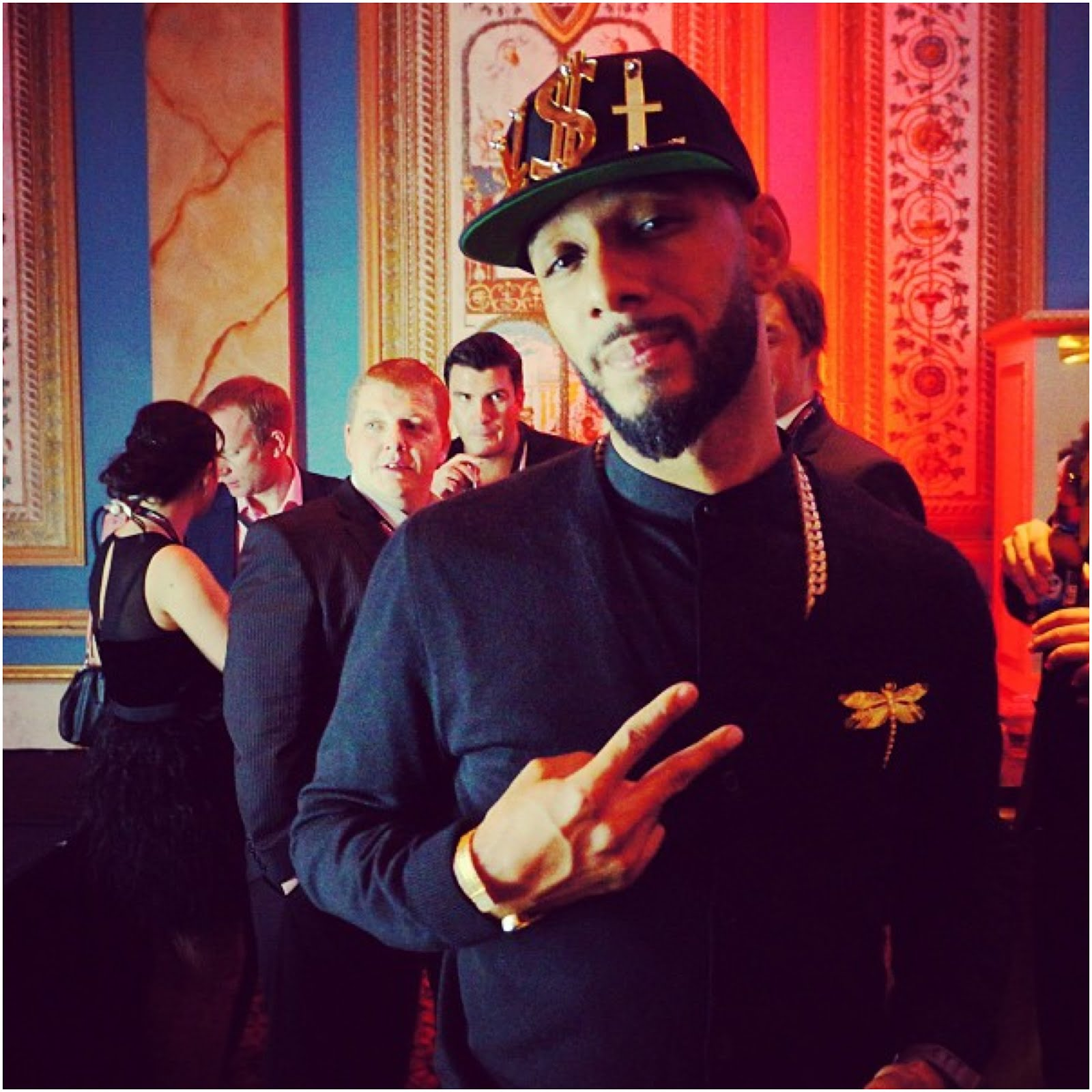 00O00 Menswear Blog Swizz Beatz in Alexander McQueen - CES 2013