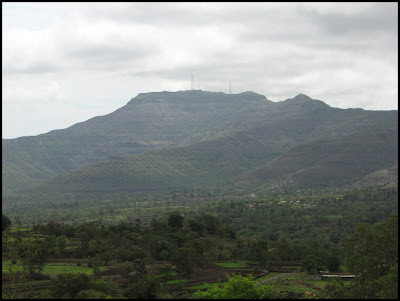 Sinhagad fort from different angle