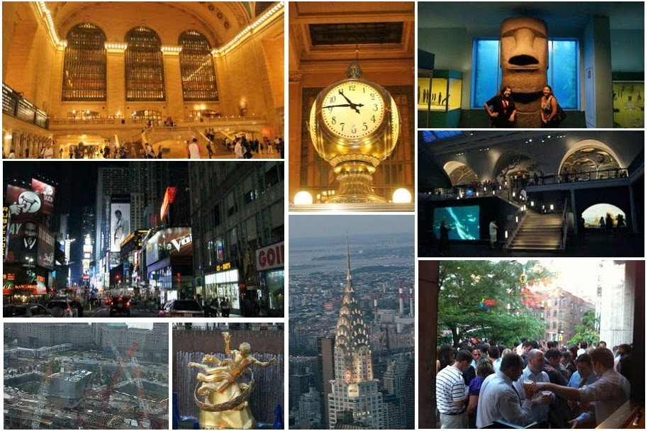 New York, ground zero, Chrysler building, happy hour, Grand Central