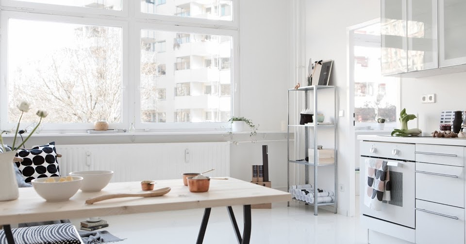 Kitchen Home Design A Lovely Minimalist Apartment In Berlin