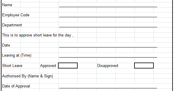 Leave Management |