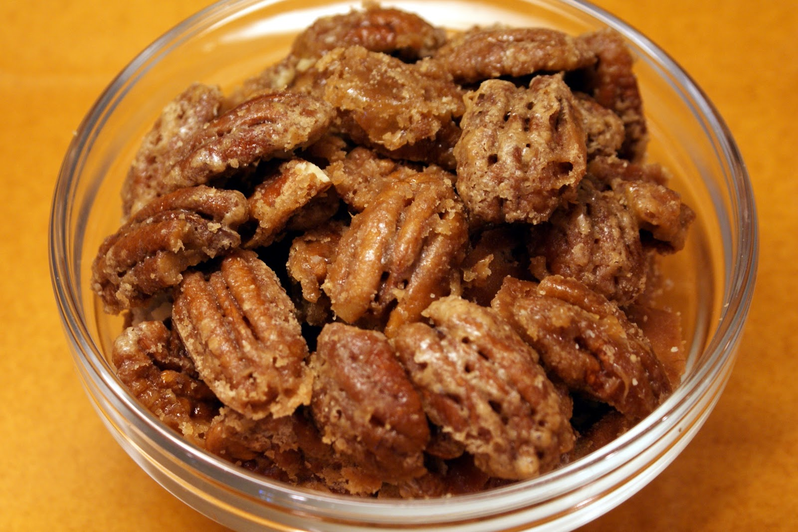 The Baker's Mann: Cheater Pralines, aka Candied Pecans