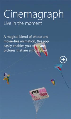 Nokia aggiorna l'applicazione Cinemagraph che adesso permette di creare gif animate in alta definzione