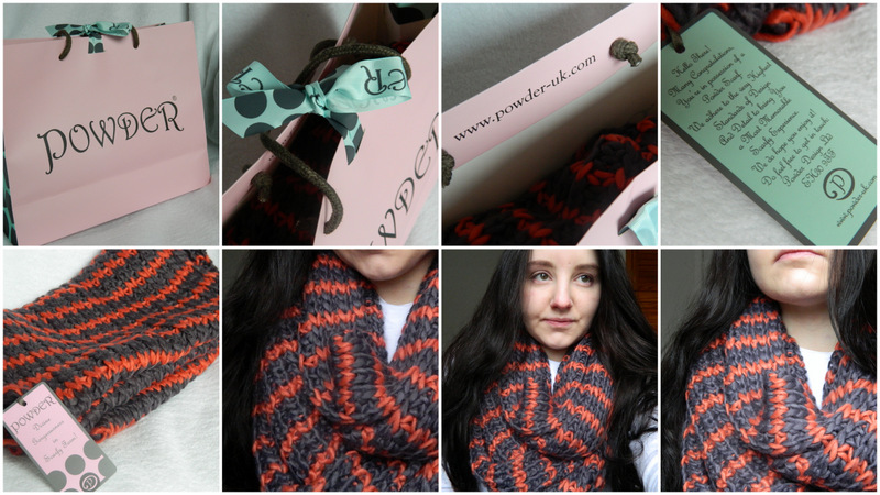 - Review: Powder Tessa Lavender Snood -