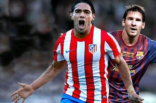 Lionel Messi Vs Falcao García ¡Duelo de goleadores en el Camp Nou¡