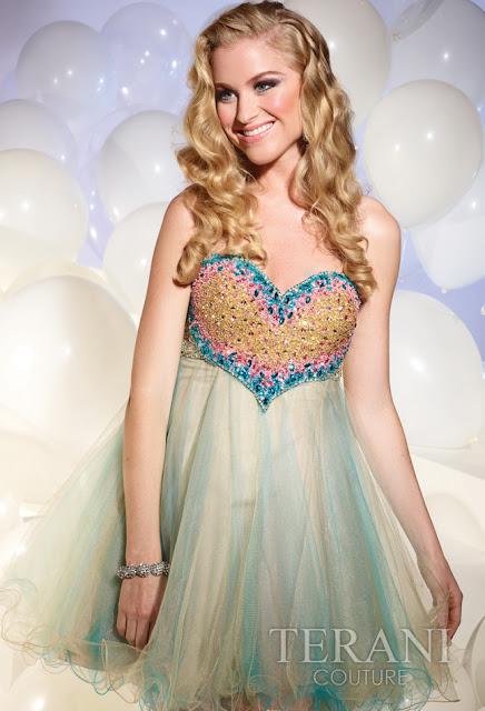 Vestidos cortos de fiesta terani 2012 24 - Gen� K�z Abiye Modelleri