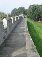 York, le mura di cinta della città