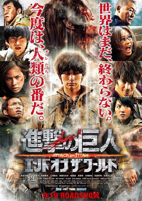 Sekuel Live Action Attack On Titan: End of The World