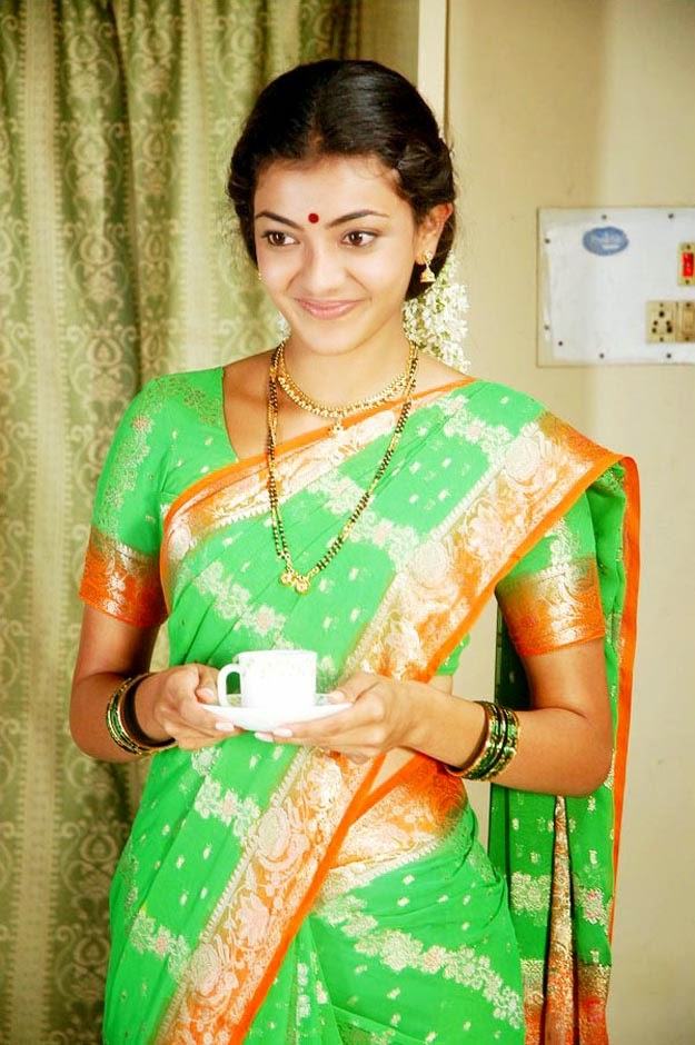 saree wallpapers kajal agarwal - photo #38