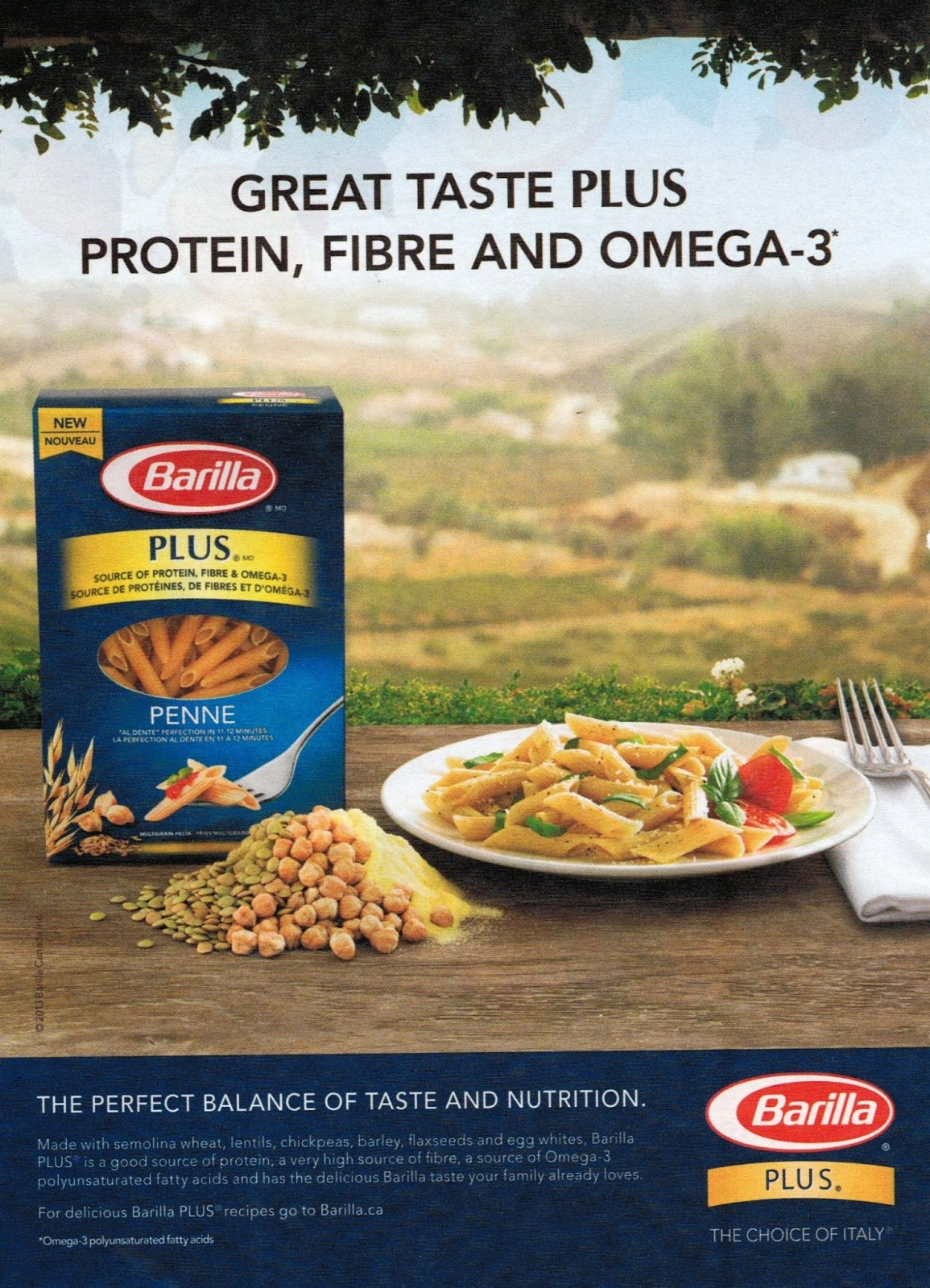 Eating 201lbs Of Barilla Plus Omega 3 Pasta Nets You The Dha Of 2oz Of Salmon