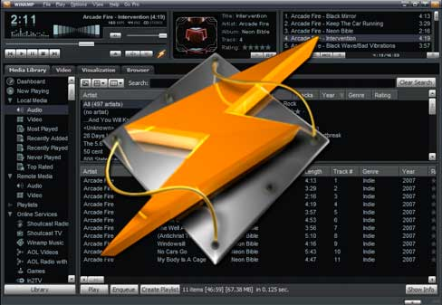 Download Winamp Terbaru Gratis Windows 7 Pro Modern Skin