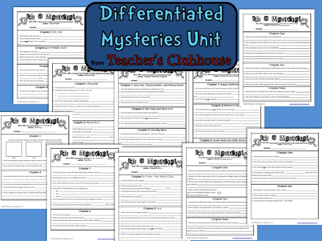 https://www.teacherspayteachers.com/Product/Differentiated-Mysteries-Unit-from-Teachers-Clubhouse-530507