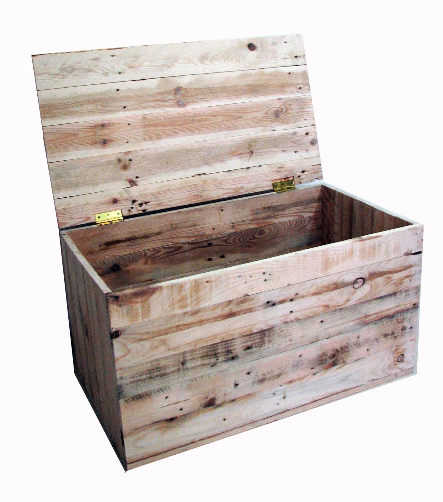 Baul madera palets blse for Madera para palets
