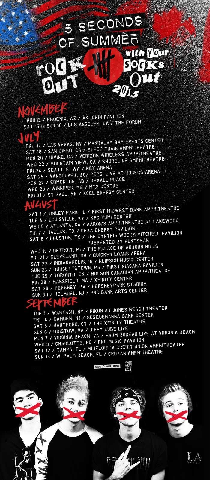 Train tour dates