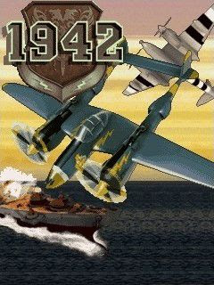 Screenshots of the The 1942 for java mobile, phone.