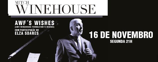 Pai de Amy Winehouse fará show em SP com participação de Elza Soares