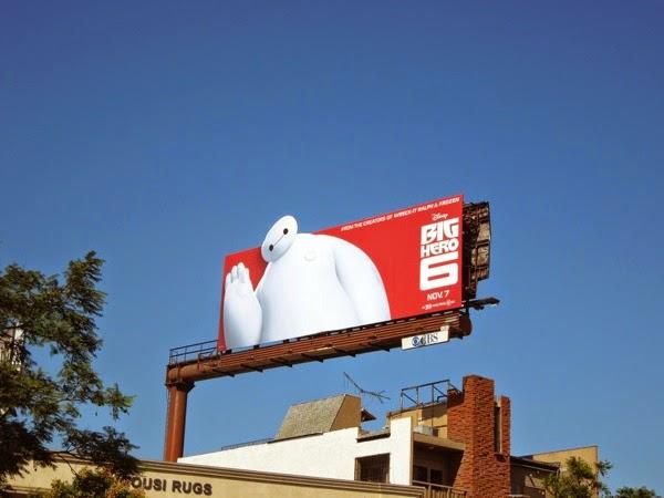 Big Hero 6 special extension movie billboard