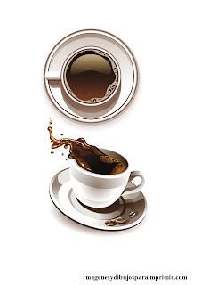 Tazas de cafe para imprimir