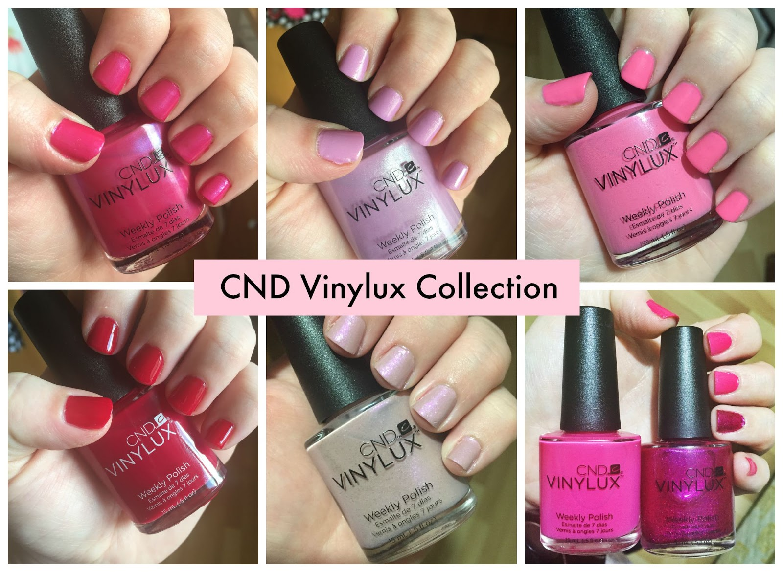 Cnd Vinylux Nail Polish Color Chart To Bend Light
