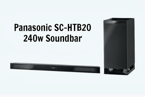 Panasonic Home Cinema Sound Bar SC-HTB20 {#Review}