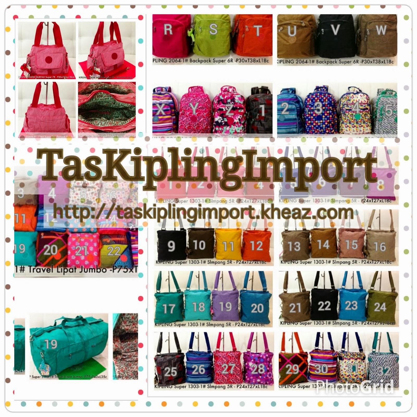 Pusat Tas Kipling Import