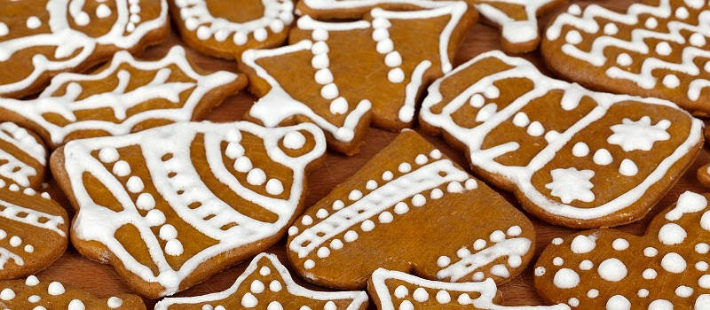 Offer Santa a favorite Christmas cookie, the gingerbread cookie
