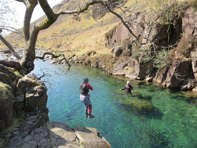 Canyoning, Lake District, River Esk, clear water, ambleside, windermere, adventure, extreme sports, explore, travel, england, uk, adrenaline sports, mountaineer, Nicola Hilditch-Short, Paul Short,