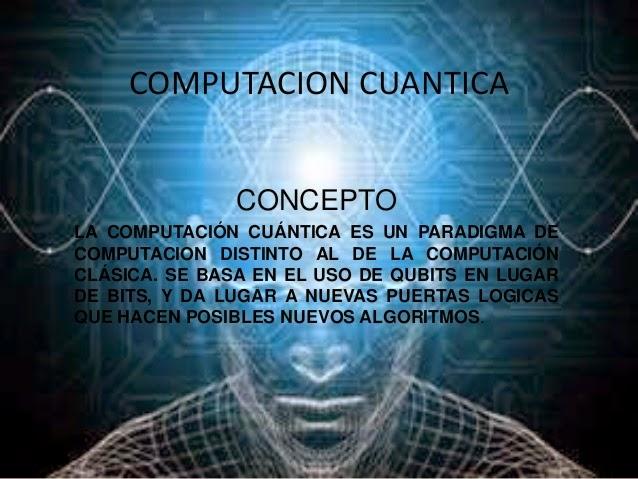 Resultado de imagen para COMPUTADORA CUANTICA