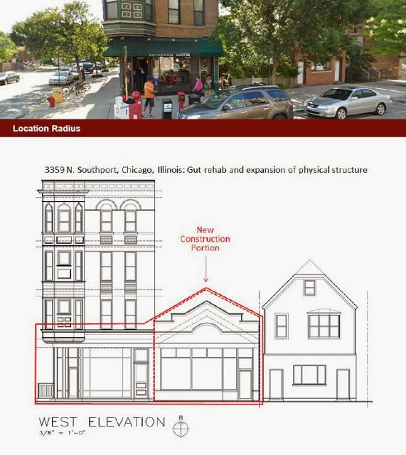 Per The Building Permit, It Looks As Though There Will Be Two Storefronts.