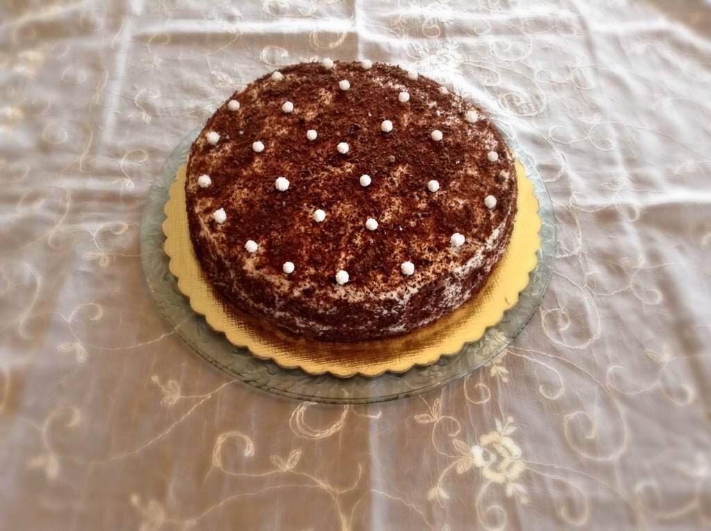 Yağsız Kakaolu Pasta